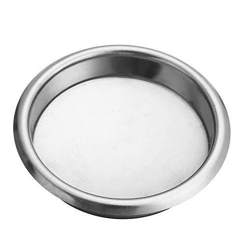 Detazhi Máquina de café de 58 mm Filtro en Blanco/de Acero Limpieza de Lavado de Acero Cuenco Ciego Máquina de café Accesorios