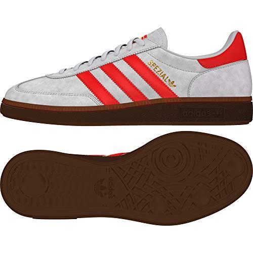 adidas Herren EF5747 Handballschuh, Grau/Rot, 40 EU
