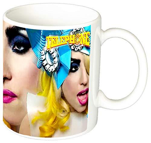 MasTazas Lady Gaga Telephone Taza Ceramica