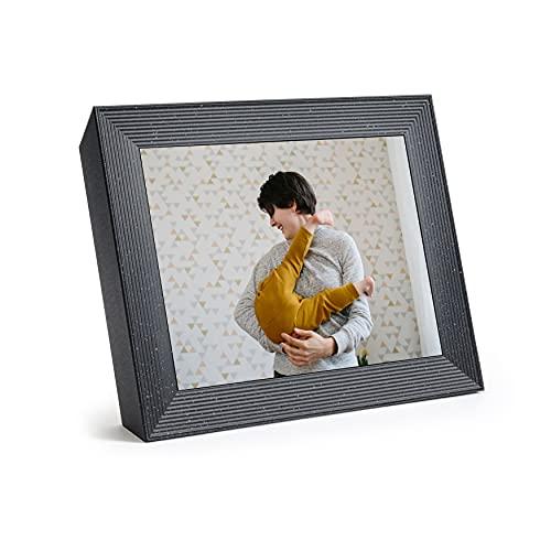 Aura Mason Luxe 2K Smart Digital Picture Frame 9.7 Inch – Pebble