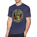 Tengyuntong Camisetas y Tops Hombre Polos y Camisas, HALIHALL Cobra Kai Karate Dojo Camiseta Personalizada para Hombre Camisa de Manga Corta de Moda