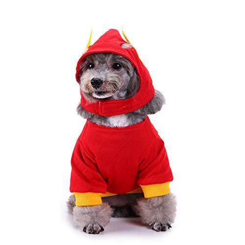 EDtara Hond Jas, Hond outfits, Kerst decoraties, Huisdier Kleding, Hond Elk Rok Kerst Kostuum voor Hond Kat