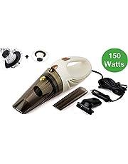 RNG EKO GREEN 150 Watt/5.5 KPA Car Vacuum Cleaner with Stainless Steel Filter + 1 Spare Fiber HEPA Filter