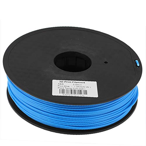 New Lon0167 Blue 3mm Featured ABS 1kg/2.2lb 3D Reliable Efficacy Printer Printing Filament Reel for RepRap Makerbot(id:02a f4 68 9a5)