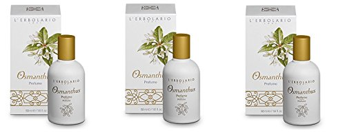 Erbolario - OSMANTHUS Parfüm 3 Packungen à 50 ml
