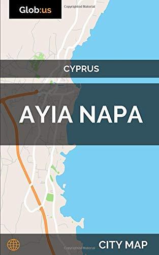 Ayia Napa, Cyprus - City Map [Idioma Inglés]