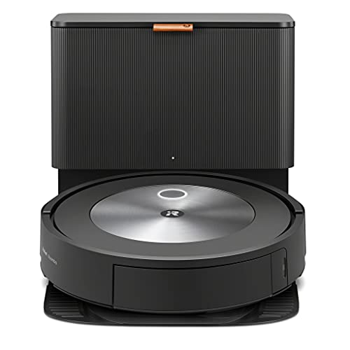 Robot aspirador con conexión Wi-Fi iRobot® Roomba® j7+ con vaciado automático de la suciedad - Dos cepillos de goma multisuperficie - Ideal para mascotas - Aprende, mapea y se adapta a tu hogar