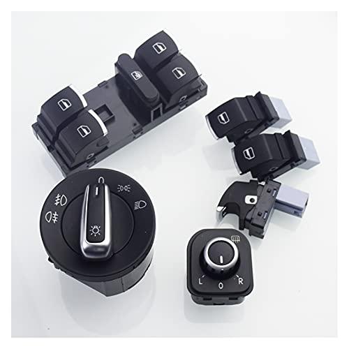 Phoenixset Cambio Ajuste para VW Golf 5 6 GTI MK5 MK6 Jetta 5 6 Passat B6 TOURAN TOURAN TIGUAN Seat Alhambra OEM 5ND 941 431 A (Color : Blue)