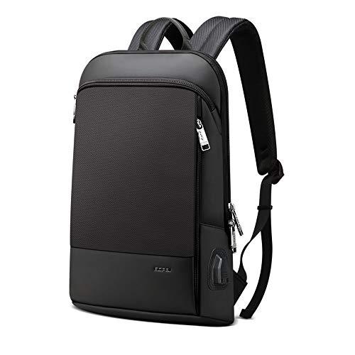 BOPAI Slim Laptop Rucksack 15 Zoll USB Laderucksack für Männer Wasserdichter Büro Laptop Rucksack