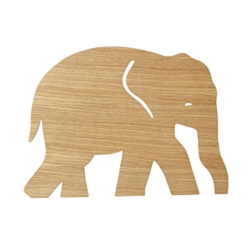 Ferm Living Olifant Lamp, Geolied Eik