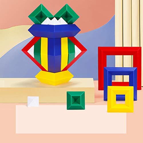 ZHIZI Babyspielzeug Baustein-Kinderstapelspielzeug, Vorschule Splicing und ständig wechselnder kreativer pädagogischer Spielzeug (Size : B)