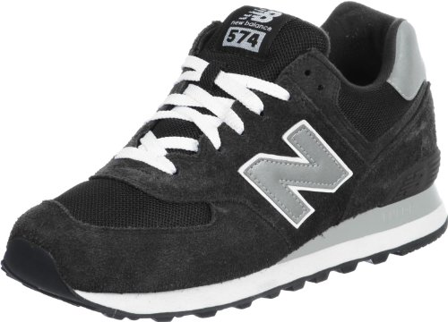 New Balance Herren 574 Core Low-Top, Schwarz, 39.5 EU