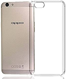 Tech Attires Oppo F-3 Transparent Ultra Protection Rubberised Crystal Clear Back Phone Cover for Oppo F-3