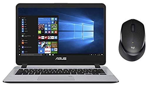 ASUS VivoBooK Intel Core i5 8th Gen 14-inch Thin and Light Laptop (8GB/256GB SSD/Windows 10/Stary Gray/1.55 Kg), X407UA-EB322T