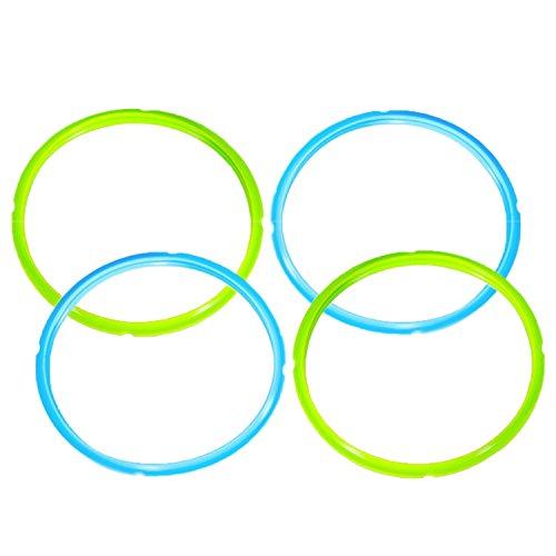 4 Piezas Goma de Sellado para Olla a presión (21.2 cm), Reemplazo...