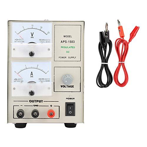 Duevin Vergoldungsmaschine, 5A Silbervergoldung Gleichrichter Schmuck Plater Galvanotechnik Verarbeitungswerkzeuge(EU)