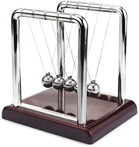 ZONGR Physics Billiard Pendulum Newton Ball Swing Table Top Decompression Gift