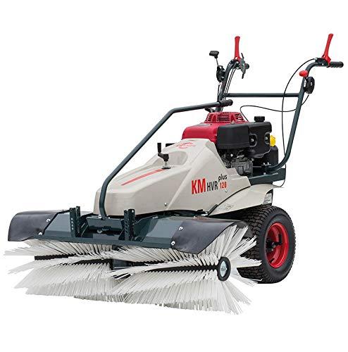 Cramer Kehrmaschine KM HVR Plus 120, Benzin, Kehrbreite 120cm, Kehrleistung 5500 m²/h, Nennleistung 6,6 kW, Hinterradantrieb