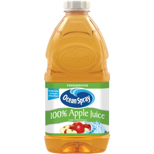 Ocean Spray 100% Apple Juice, 60 Ounce Bottle (Pack of 8)