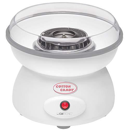 Zuckerwattemaschine für Zuhause Große Watte mit Spritzschutz Zuckerwatte Große Schale (inkl. Messlöffel, 10 Holzstäbchen, 500 Watt, Spritzschutz Spülmaschinengeeignet)