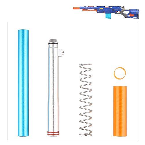 WORKER Accesorio de dardo Corto para Nerf N-Strike Longstrike CS-6 Dart Blaster...