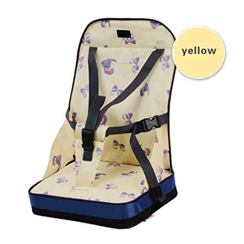 Knowooh stoel hoogte voor kinderen Opvouwbare mobiele kinderstoel als een booster stoel en reisstoel, ideaal als een hoge stoel voor baby's en peuters op de weg