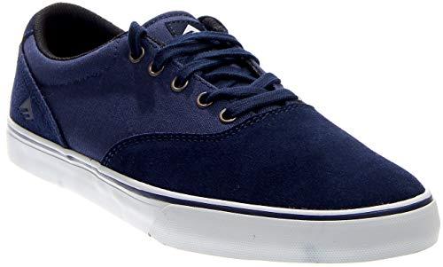 Emerica Men's The Provost Slim Vulc Navy/White Sneaker 5 D (M)