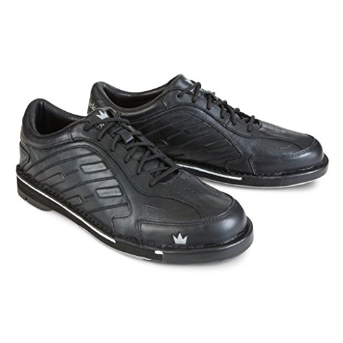 Brunswick Herren Team Bowling-Schuhe, schwarz, rechte Hand, Herren Herren Team Bowling-Schuhe, schwarz, rechte Hand, Herren, BRU58501101RH14, Schwarz, 13.5 UK