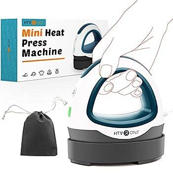 HTVRONT Heat Press Small Heat Press Machine for T Shirts Small Heat Press Iron Press for Heating Transfer Dark Green