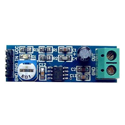 Jinzuke Circuitos de la Placa del módulo LM386 200x Ganancia de Potencia Módulo Amplificador de Audio Amplificador Chip Integrado 5-12V