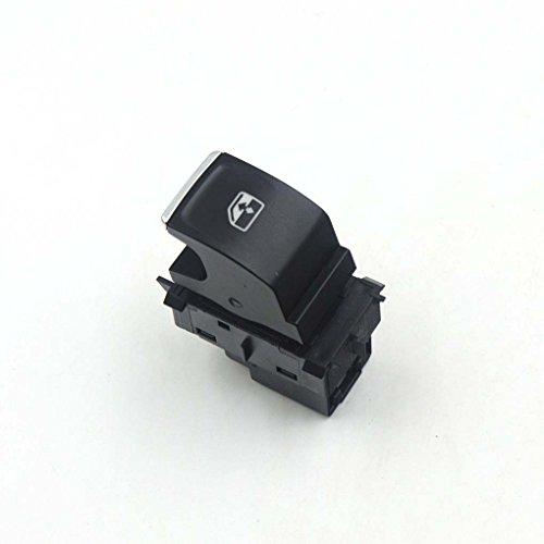 Flushzing Ventana de Control Cromo Interruptor de alimentación Botón del Motor de VW Golf GTI 7