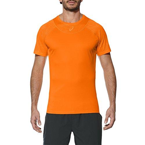 ASICS M Athlete Cooling Top Hombre Naranja