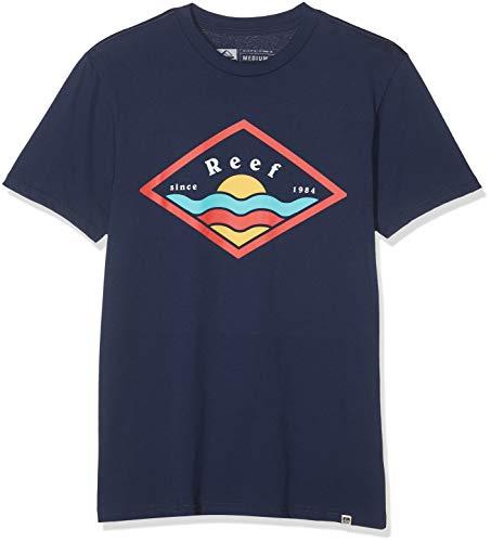 Reef Sunny tee Camisa, Azul (Navy Nav), X-Large para Hombre