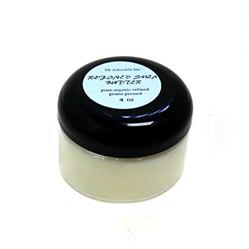 Refined Shea Butter Pure Raw 4 Oz