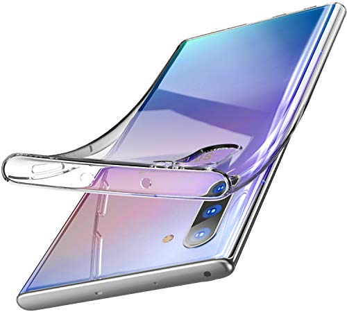TOZO for Samsung Galaxy Note 10 Case Premium Clear Soft TPU Gel Transparent Flexible Cover for Samsung Galaxy Note 10 Clear Gel