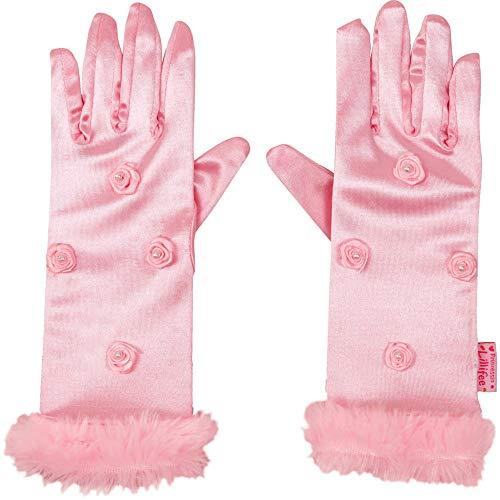 DIE SPIEGELBURG 14609 Prinzessinnen-Handschuhe Prinz. Lillifee, one Size (4-6 J.)