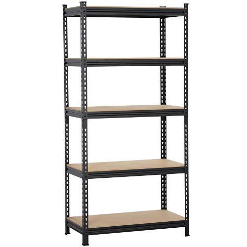 2x4basics 90124 Custom Shelving and Storage System Shelflinks, Black (Pack of 6)