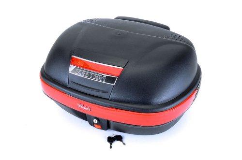 "Bestem T-Box TBOX-929-BLK Black 12"" X 22"" X 16"" Motorcycle/Scooter Flat Top Box"