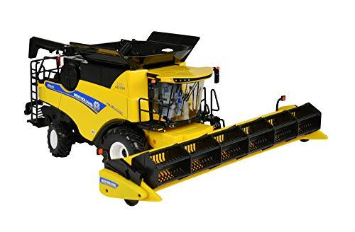 TOMY Britains - New Holland CR9.9 Mähdrescher – Spielzeug Traktor mit Mähwerk zum Verstellen - für Kinder ab 3 Jahre – Perfekt zum Spielen und Sammeln