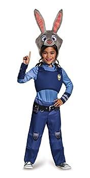 Disguise Disney Zootopia Judy Hopps Girls  Costume Blue / Gray Medium/7-8
