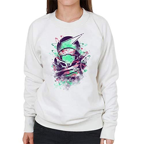 Water Colour Bounty Hunter Metroid Women's Sweatshirt