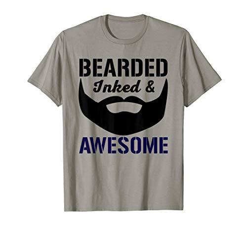 BEARDED, INKED, & AWESOME T-Shirt