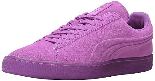 PUMA Men's Suede Classic Emboss Sneaker, Purple Cactus Flower, 10 D US