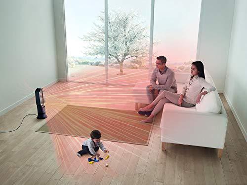 Dyson Hot + Cool AM09 Klimagerät (mit Jet Focus Technologie inkl. Fernbedienung, Energieeffizienter Heizlüfter und Ventilator mit Sleep-Timer Funktion)