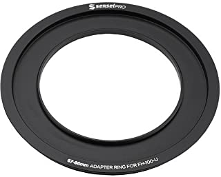 Sensei Pro 58mm Adapter Ring for 100mm Aluminum Universal Filter Holder 4 Pack