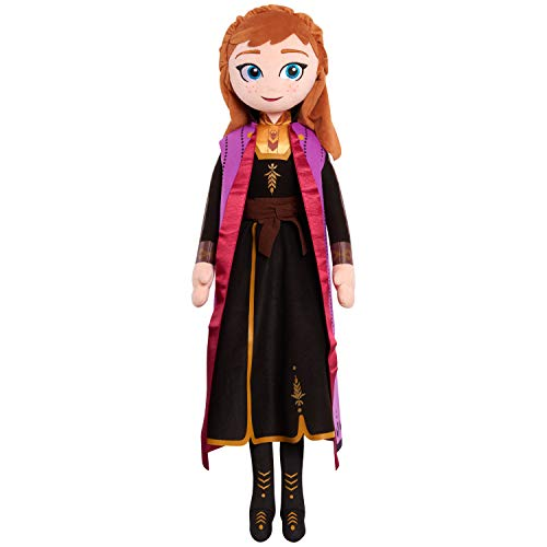 Disney Frozen 2 34-Inch Jumbo Singing Light Up Plush Anna, Musical Plush Toys for Kids by Just Play
