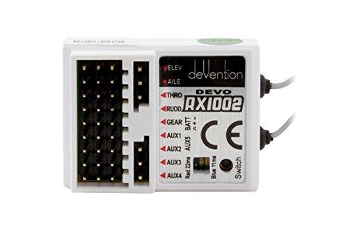 XciteRC 50100101 - Devo 10-Kanal Empfänger RX-1002, 2.4 GHz