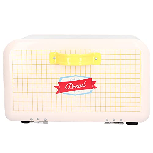 Suporte de armazenamento de pão, caixa de pão de grande capacidade Cozinha antiderrapante multifuncional com tampa articulada para itens de confeitaria