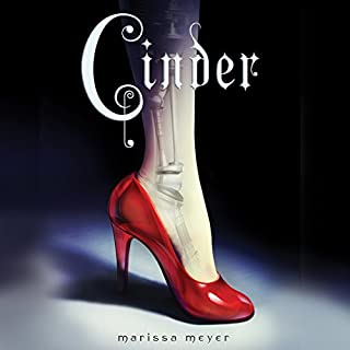 Cinder audiobook cover art
