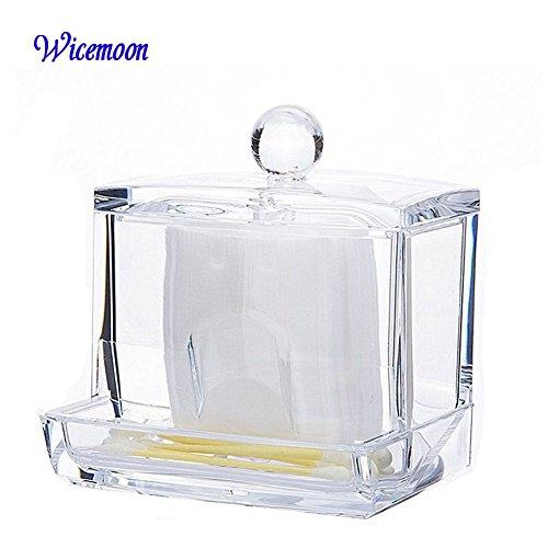 Wicemoon Boîte de Rangement Cosmétique en Acrylique pour Rouge à Lèvres/Pinceaux Organisateur Cosmétique/Tour de Rangement